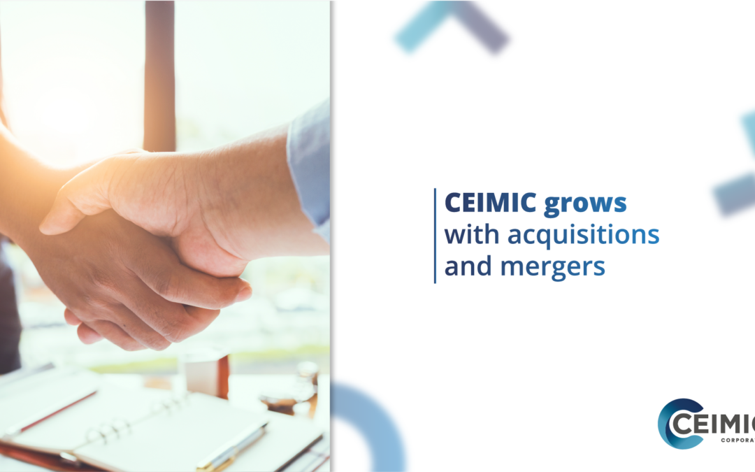 CEIMIC GROWS WITH ACQUISITIONS AND MERGERS