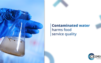 CONTAMINATED WATER HARMS FOOD SERVICE QUALITY