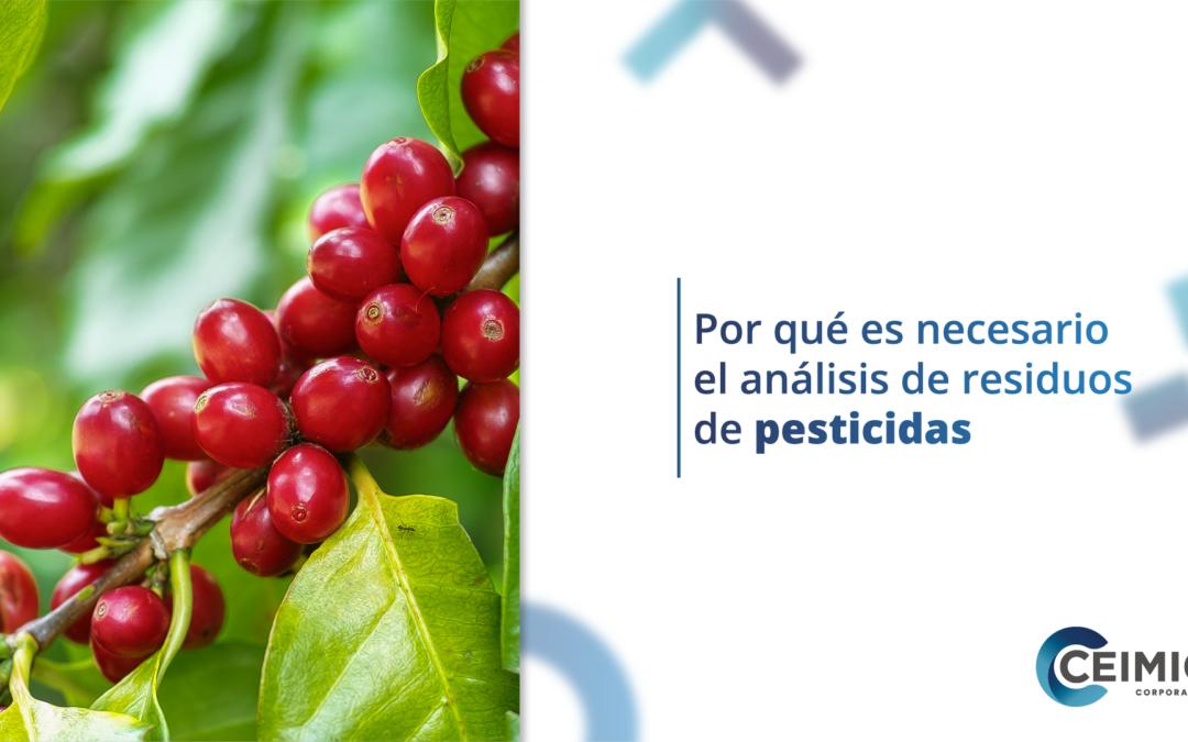 Por qué es necesario el análisis de residuos de pesticidas