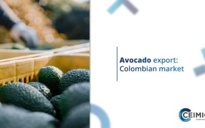 Avocado export: Colombian market