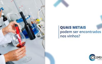Quais metais podem ser encontrados nos vinhos?